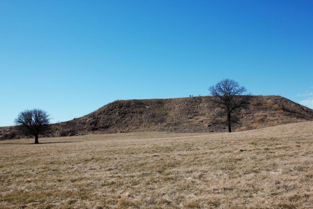 earth mound at Cahokia Mounds
