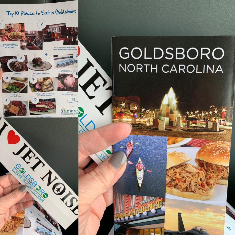 3 photos of Goldsboro, NC brochures