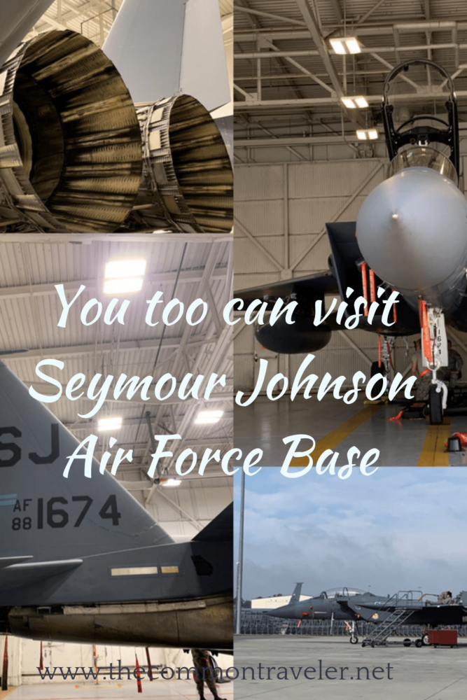 How to take a guided tour through Seymour Johnson Air Force Base in Goldsboro, NC .