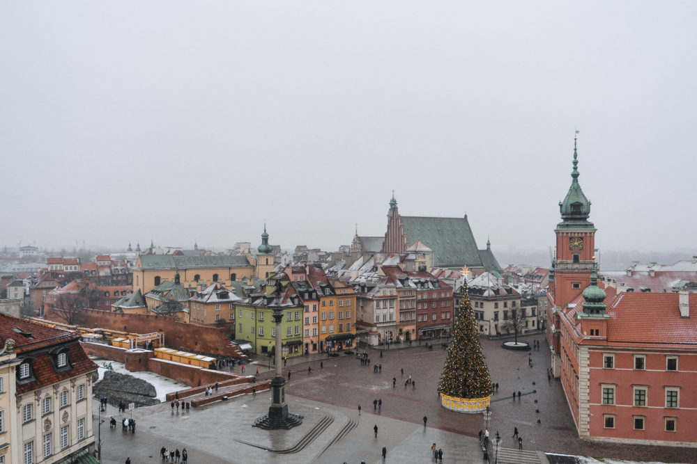 Best Places to Visit in Europe featured by top travel blog, The Common Traveler: Warsaw, Poland