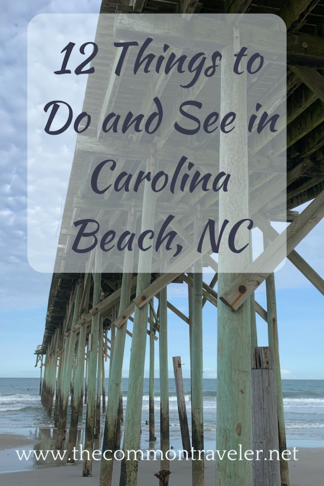 What to do while experiencing Carolina Beach in North Carolina. #carolinabeach