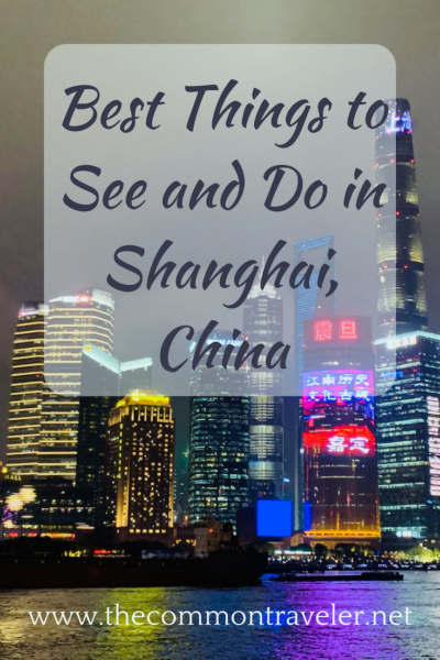 List of places to see and things to do while visiting Shanghai, China, including directions on how to get to each one using the Shanghai metro.