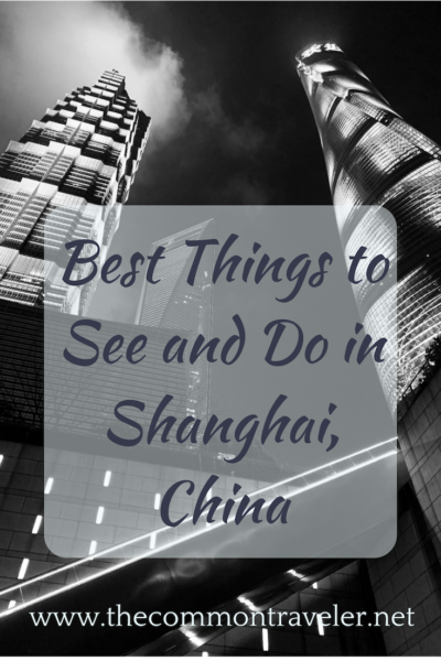 List of places to see and things to do while visiting Shanghai, China, including directions on how to get to each one using the Shanghai metro. #shanghai #china