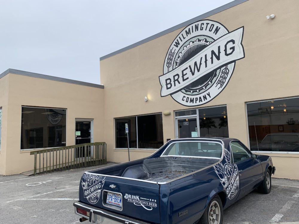 entrance to Wilmington Brewing Company