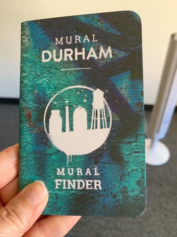 booklet of Durham's murals