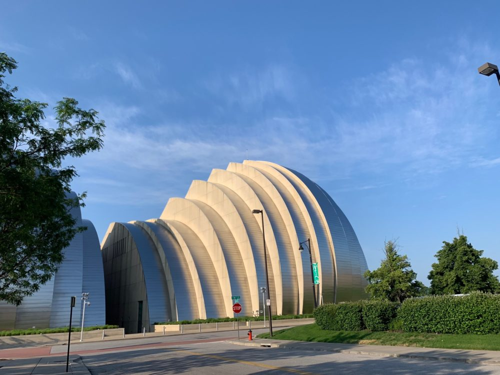 Kauffman Performance Arts Center in KC