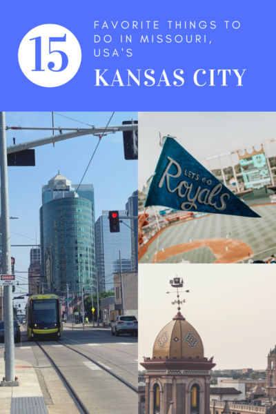 In Kansas City for the weekend? Here is a list of my favorite things to do in KC!