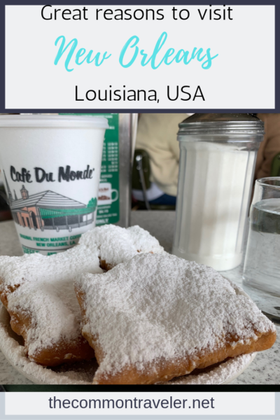 Looking for reasons why you should visit New Orleans, Louisiana, USA? This list includes well-known and lesser known reasons to add New Orleans to your bucket list. #neworleans #nola #louisiana