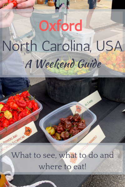 Looking for a Uniquely Carolina town? The historic town of Oxford, North Carolina has something for those looking for a getaway in a walkable town.