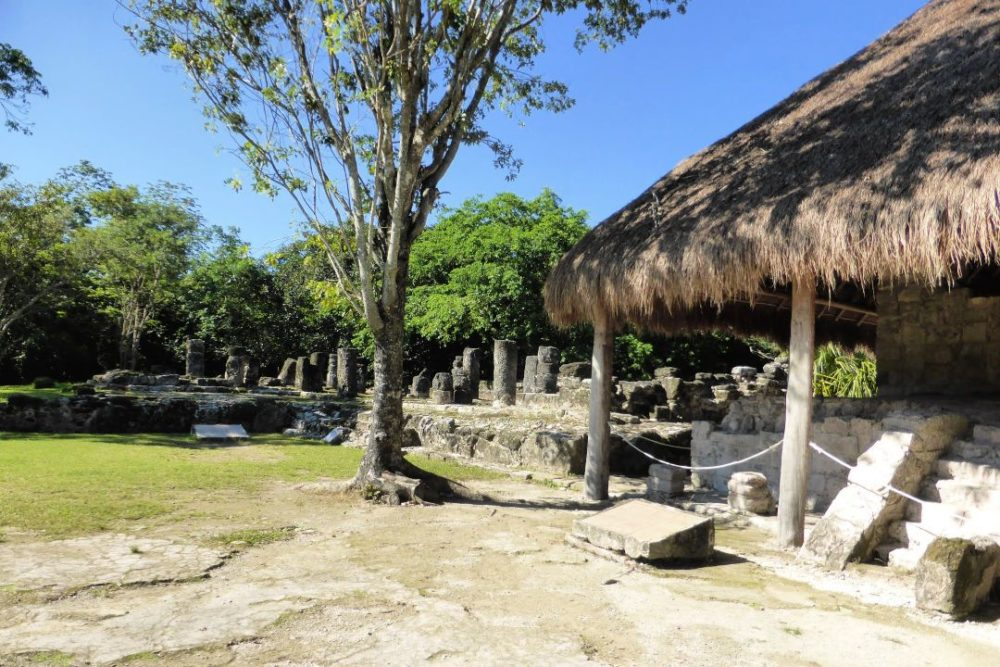 The Best Caribbean Cruise Shore Excursions to do on Port Day featured by top cruise blog, The Common Traveler: image of Mayan ruins in San Gervasio, Cozumel