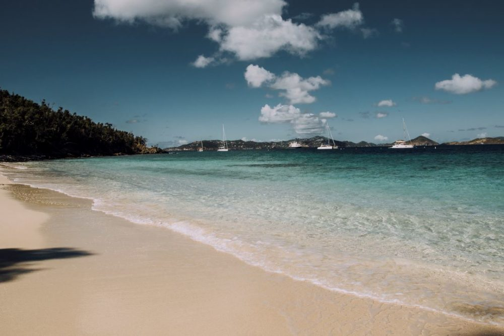 beach in St. John