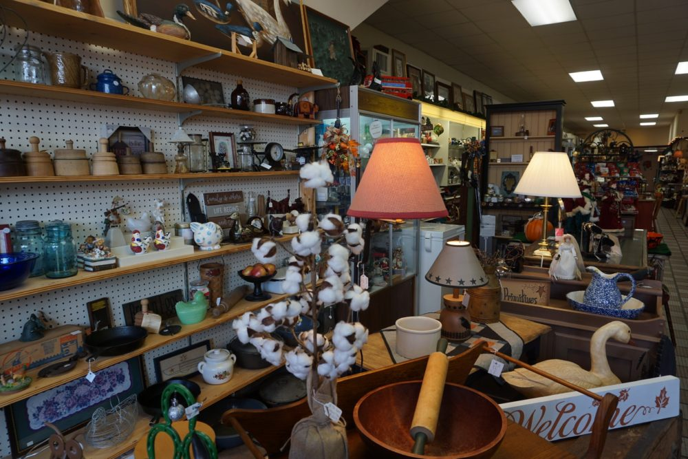 12 FUN THINGS TO DO IN OXFORD NC featured by top NC travel blog, The Common Traveler: image of inside of store with home decor and miscellaneous items