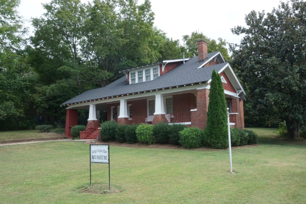 Shaw Museum building - brick home