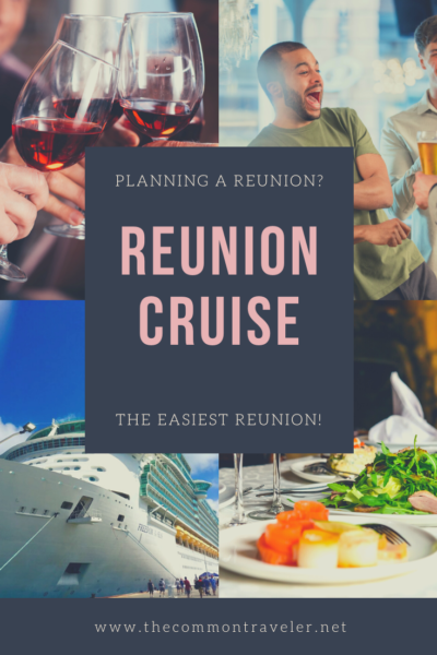 Top 5 Reasons to Go on a Reunion Cruise featured by top travel blog, The Common Traveler: PG-Reunion Cruise