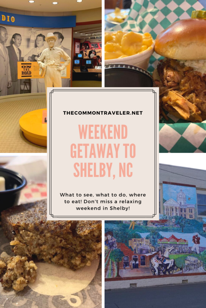 A Weekend in Shelby NC featured by top NC travel blog, The Common Traveler