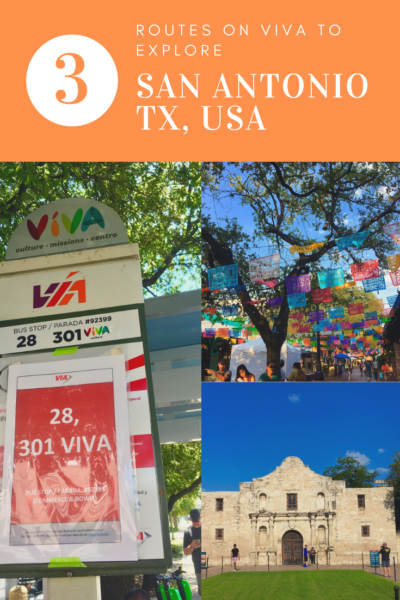 VIVA San Antonio Review featured by top travel blog, The Common Traveler: Looking for an inexpensive to get around San Antonio, Texas? Try Viva!