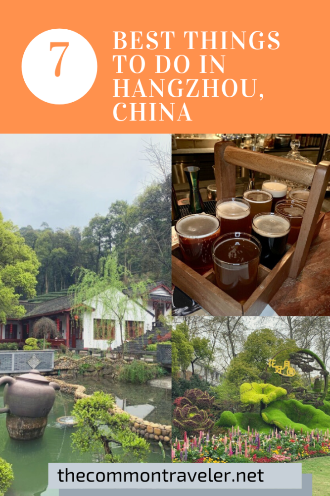 7 Best Things to do in Hangzhou, China featured by top US travel blog, The Common Traveler.