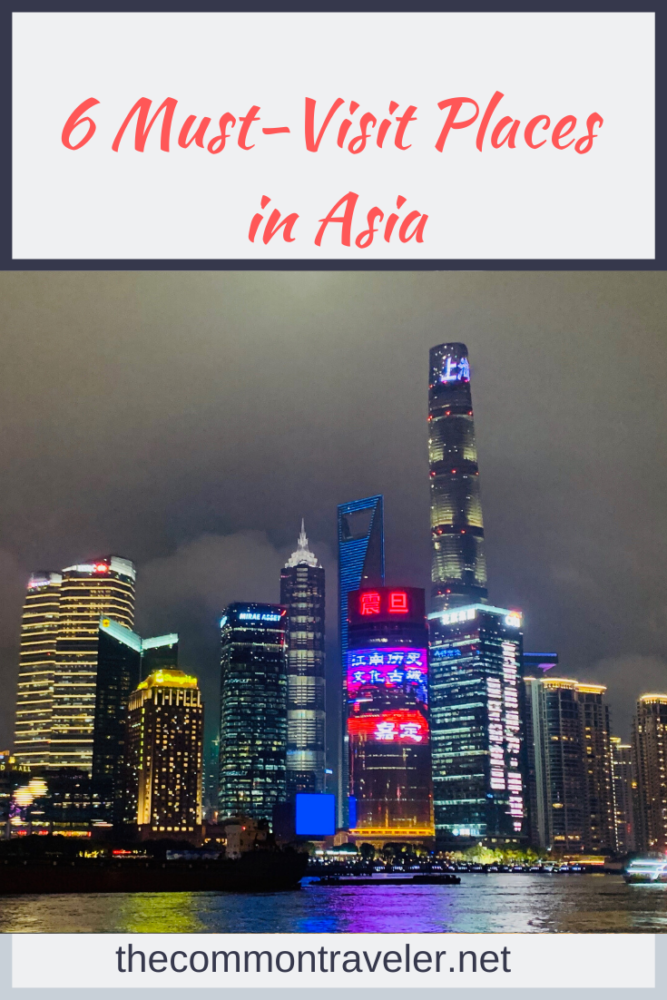 Trying to decide where to go on your trip to Asia? We share the 6 must-visit places you'll want to add to your Asia itinerary! #asia #mustvisitasia #hoian #siemreap #cambodia #vietnam #bali #shanghai #osaka #krabi #thailand #china #japan #southeastasia #honeymoondestinations #southeastasiatravel #angkorwat