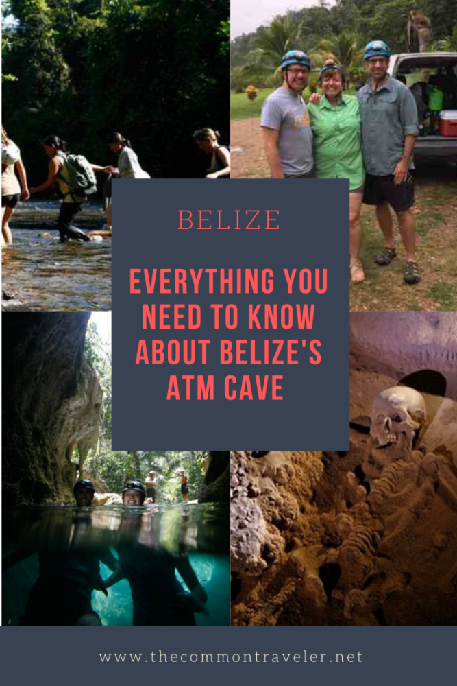 Visiting ATM Cave in Belize featured by top travel blog, The Common Traveler: Interested in visiting Belize's ATM cave but afraid it will be too strenuous or not sure if it's worth it? This post will tell you exactly what to expect in terms of physical demands, what to bring, and why it is worth visiting. #belize #atmcave #sanignacio