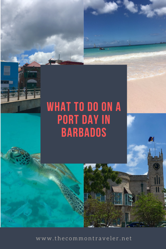 Unique Things to Do in Barbados on a Port Day featured by top US cruise blog, The Common Traveler