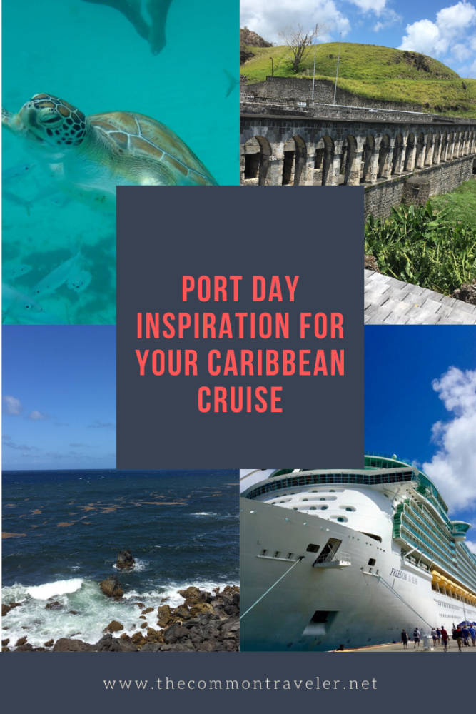 The Best Caribbean Cruise Shore Excursions to do on Port Day featured by top cruise blog, The Common Traveler.