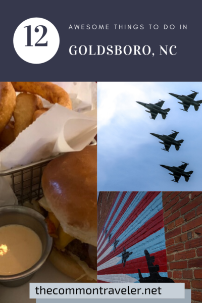 Best things to do in Goldsboro NC at the weekend, featured by top NC blog, The Common Traveler.