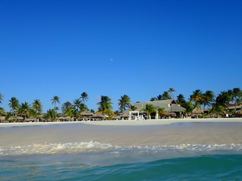 Aruba Sightseeing tips featured by top travel blog, The Common Traveler: Manchebo Beach