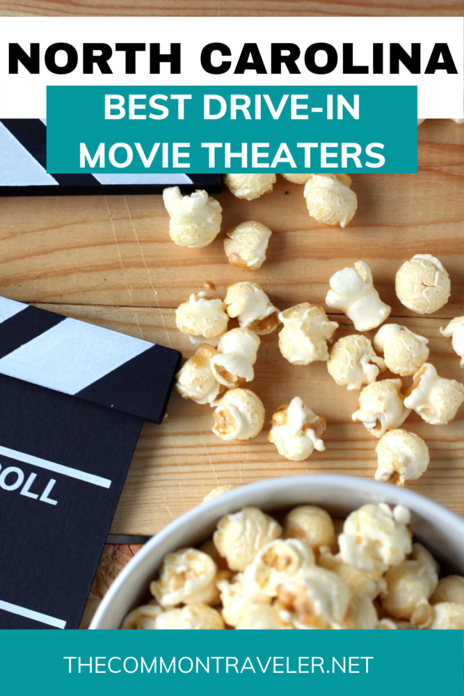 Best Drive-in Movie Theaters in NC, including locations, links, basic information, what to bring, and etiquette. #visitnc #driveinmovies #driveintheaters #datenight #familyactivities #ncdriveinmovies #ncdriveintheaters