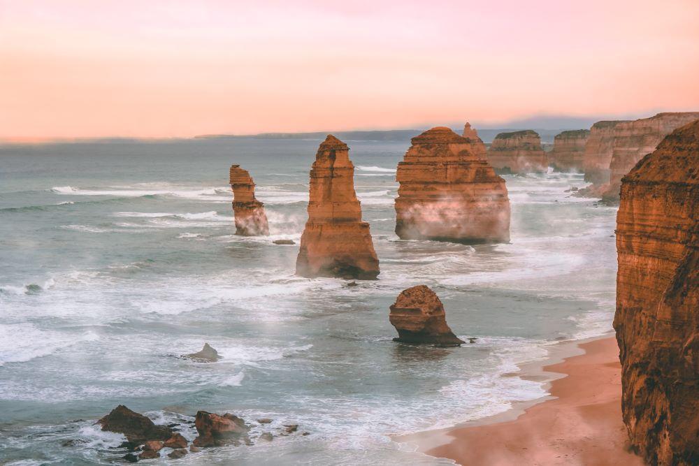 12 Apostles on Great Ocean Road in Australia