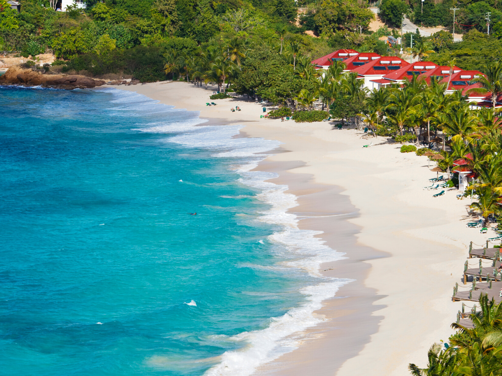 Image: Galley Bay Beach in Antigua