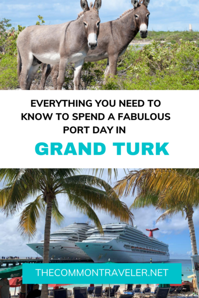 Stopping in Grand Turk during your cruise and wondering what to do? We've got some great ideas for you! Tips on exploring the island, where to eat, the best beaches, and sights to see. We've done the work so you can just get to the enjoying! Whether you want to relax or seek adventure, we've got you covered! #grandturk #carnival #cruising #caribbean #turksandcaicos #cruiseport #margaritaville #cruiseportbeaches #grandturkbeaches