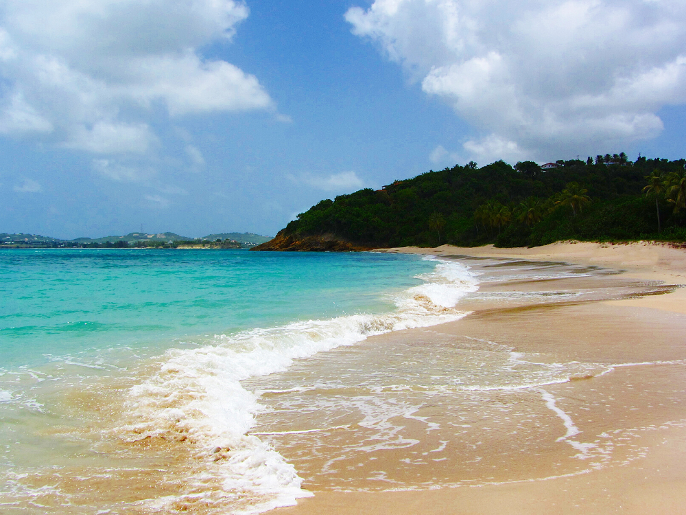 Hawksbill Beaches in Antigua