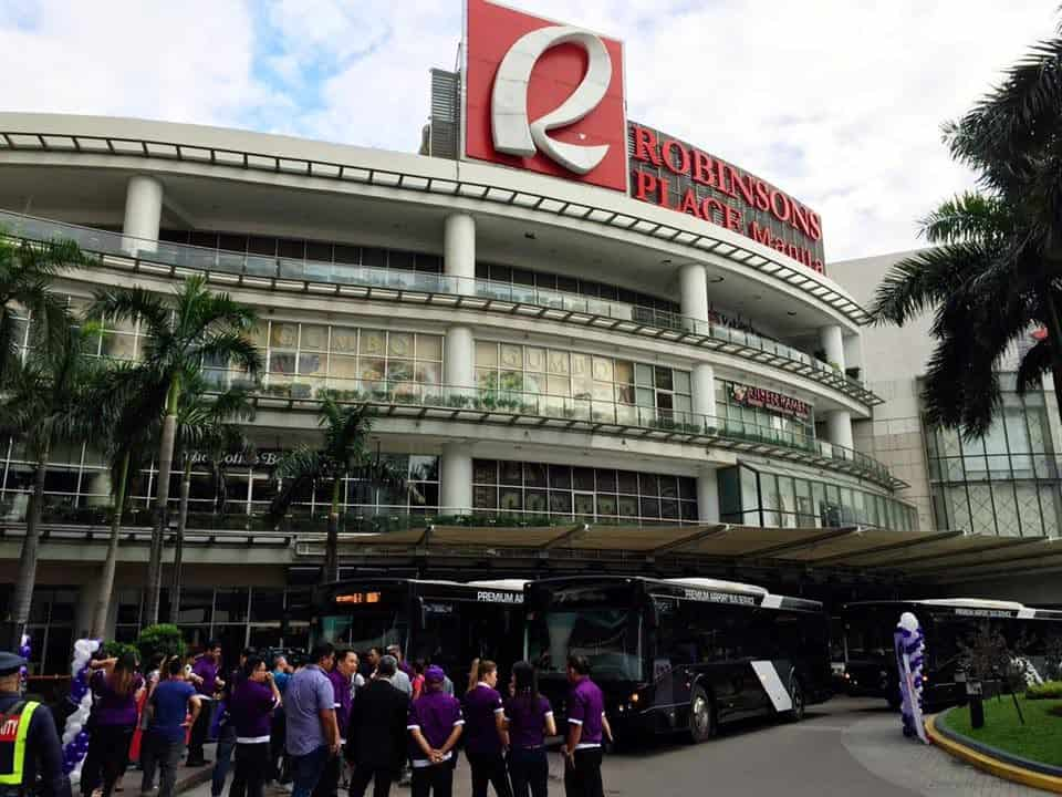 Robinsons Place Mall in Manila, Philippines