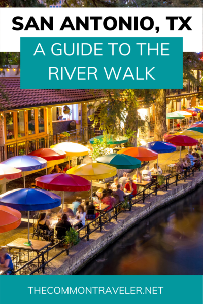 Don't miss the River Walk when visiting San Antonio, Texas. Here are some great ways to see it. #sanantonio #riverwalk