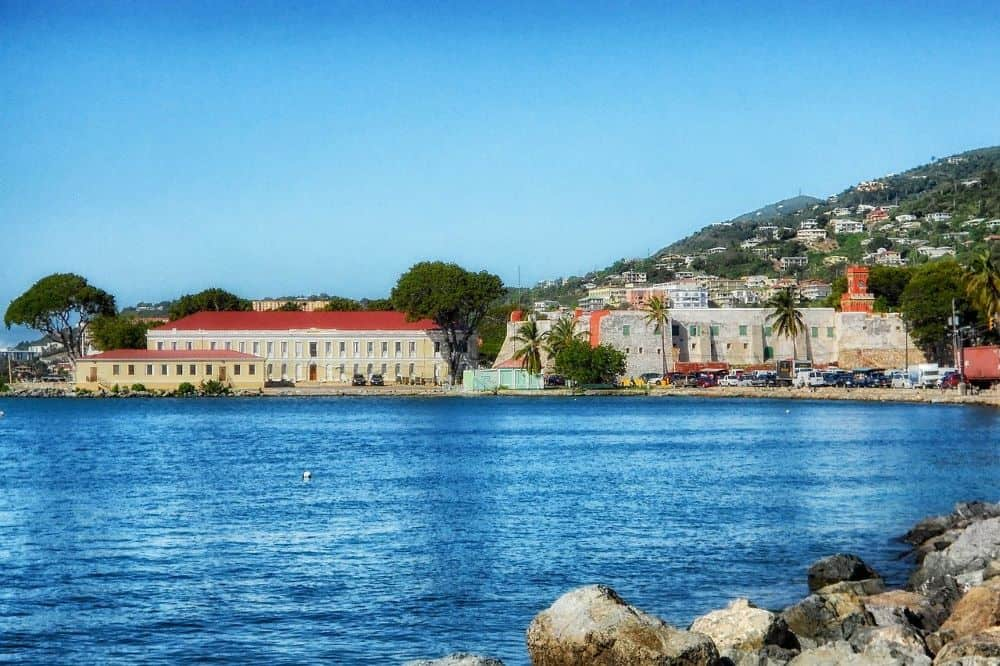 historic forts in St. Thomas USVI