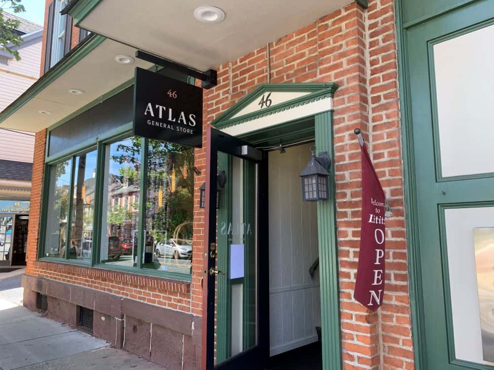 THE BEST THINGS TO DO IN LITITZ PA featured by top US travel blogger, The Common Traveler: image of Atlas General Store in Lititz PA