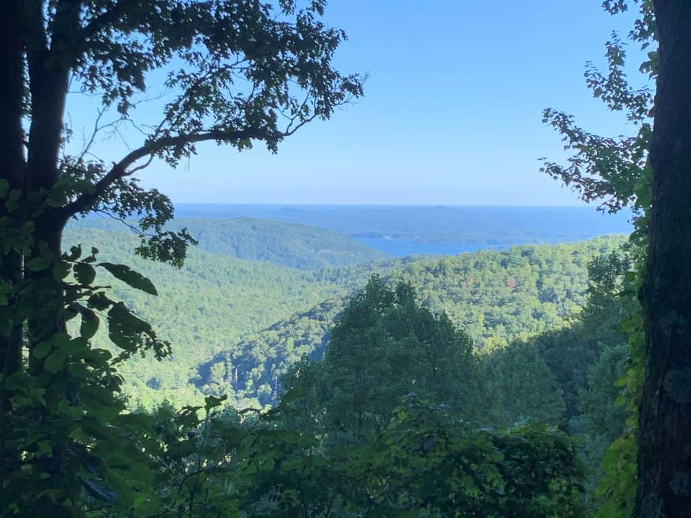Mountain view and Lake - Gorges State Park, Cashiers, NC