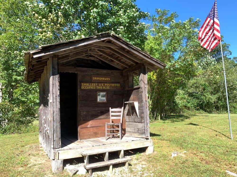 Grimshawes, smallest US Post Office, Cashiers, NC