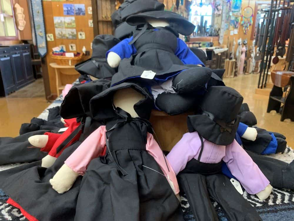 Amish dolls from Lancaster County PA