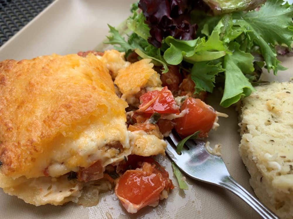 THE BEST THINGS TO DO IN LITITZ PA featured by top US travel blogger, The Common Traveler: image of tomato pie from Tomato Pie Cafe, Lititz PA