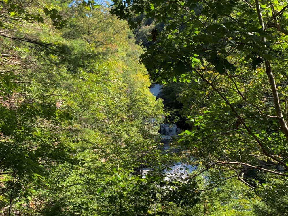 Cullasaja Falls in Highlands NC