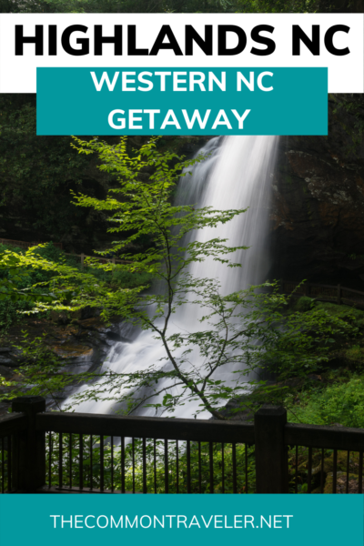 Looking for the Best Things to Do in Highlands NC? Click here now for the complete travel guide by The Common Traveler, including easily accessible waterfalls! Some of the most popular waterfalls in NC are found right here -- Bridal Veil and Dry Falls but there are so many more. Twice a year, see a natural phenomenon that Forbes says shouldn't be missed - Shadow of the Bear. Don't miss this charming Western NC mountain town!