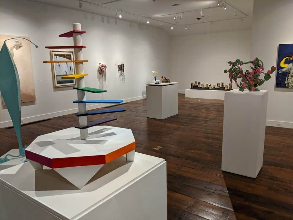 art exhibits at The Bascom: A Center for the Visual Arts in Highlands NC