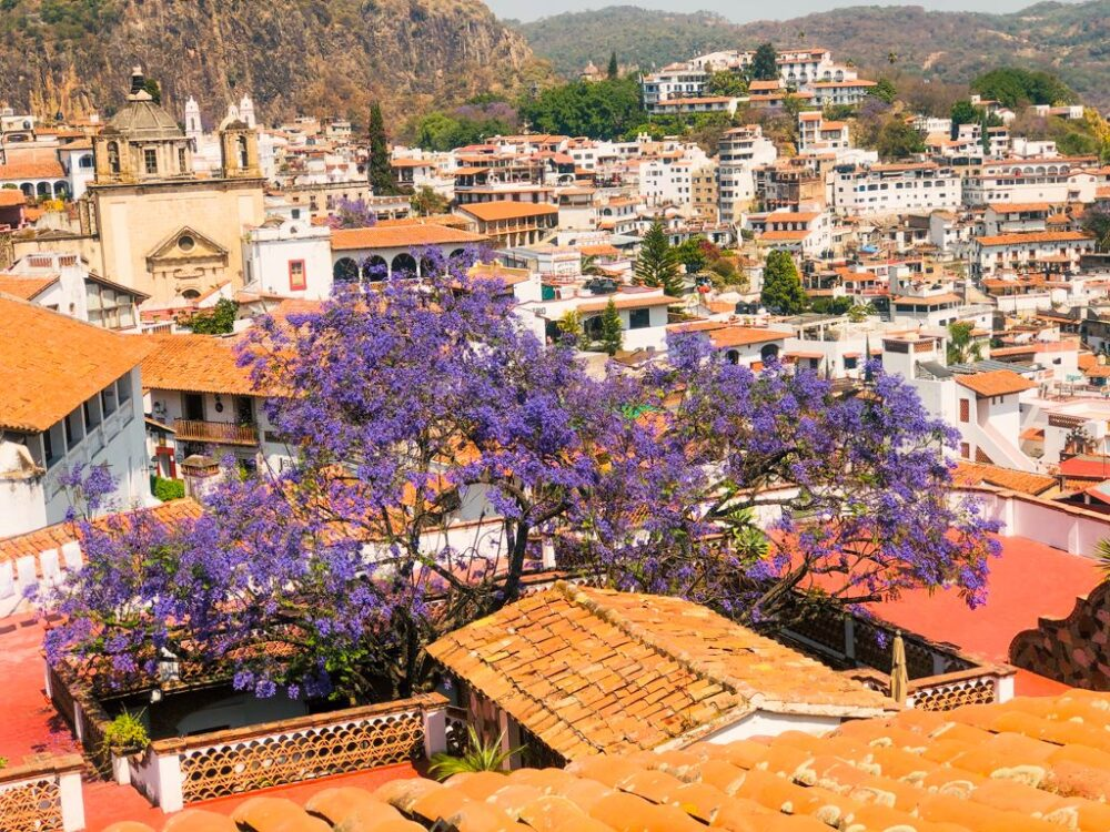 Mexico's Pueblos Magicos Worth Visiting by The Common Traveler: Image of Taxco. |Pueblos Magicos Mexico by popular US international blog, The Common Traveler: image of Taxco, Guerrero.