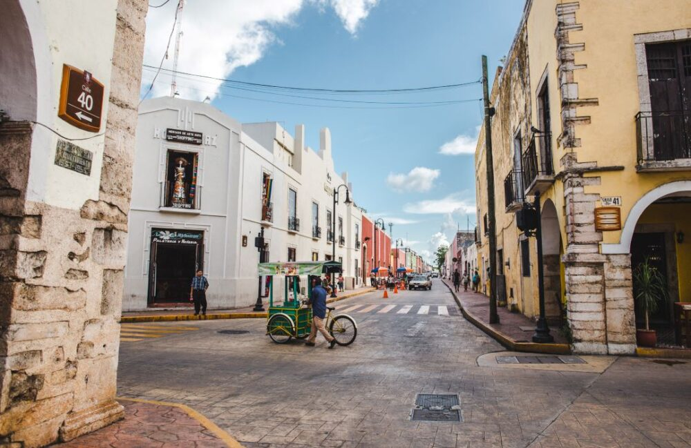 Mexico's Pueblos Magicos Worth Visiting by The Common Traveler: Image of street in Valladolid |Pueblos Magicos Mexico by popular US international blog, The Common Traveler: image of Valladolid, Yucatan.