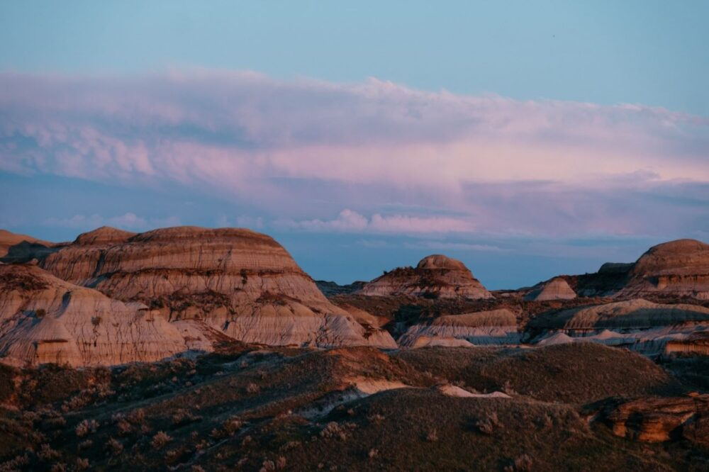 Canada Outdoor Activities by popular US international travel blog, The Common Traveler: image of the Alberta badlands.